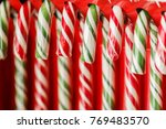 candy cane. christmas sweetness.... | Shutterstock . vector #769483570