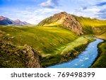 Mountain River Stream Summer...