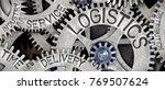 macro photo of tooth wheel...   Shutterstock . vector #769507624