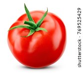 Tomato isolated. tomato with...