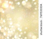abstract light bokeh background.... | Shutterstock . vector #769533334
