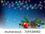 abstract background with...   Shutterstock .eps vector #769538983