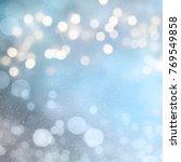 christmas light background. ... | Shutterstock . vector #769549858