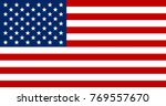 united states of america flag | Shutterstock .eps vector #769557670