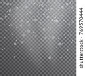 Snow. Vector Transparent...