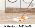 floor cleaning service   Shutterstock . vector #769594678