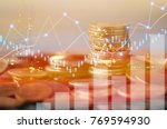finance  capital banking and... | Shutterstock . vector #769594930
