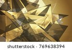 beautiful gold illustration... | Shutterstock . vector #769638394