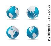 vector illustration of four... | Shutterstock .eps vector #769647793