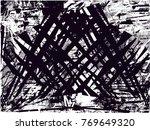 print distress background in... | Shutterstock .eps vector #769649320