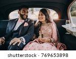 handsome indian groom dressed... | Shutterstock . vector #769653898
