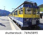 fast modern passenger speed | Shutterstock . vector #76965895