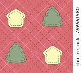 vector pattern. retro ornament. ... | Shutterstock . vector #769661980