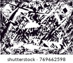 print distress background in... | Shutterstock .eps vector #769662598