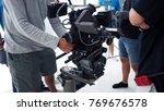 vdo camera shooting for... | Shutterstock . vector #769676578