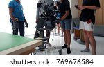 vdo camera shooting for... | Shutterstock . vector #769676584