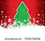 abstract christmas background. | Shutterstock . vector #769676836