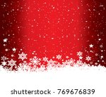 abstract christmas background. | Shutterstock . vector #769676839