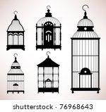 Bird Cage Birdcage Vintage...