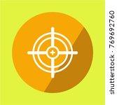 vector target icon | Shutterstock .eps vector #769692760