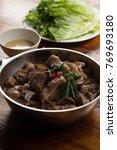 hot pot cuisine   Shutterstock . vector #769693180