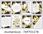 abstract vector layout... | Shutterstock .eps vector #769701178