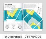 abstract vector layout... | Shutterstock .eps vector #769704703