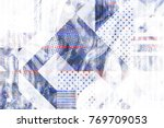 bright modern stylish original... | Shutterstock . vector #769709053