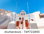 beautiful orthodox church in... | Shutterstock . vector #769722850