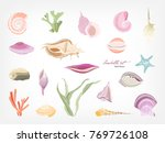 collection of gorgeous hand... | Shutterstock .eps vector #769726108