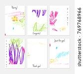 hand drawn creative universal... | Shutterstock .eps vector #769768966