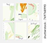 hand drawn creative universal... | Shutterstock .eps vector #769768990