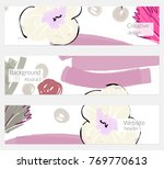 hand drawn creative universal... | Shutterstock .eps vector #769770613