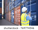 foreman control loading... | Shutterstock . vector #769774546