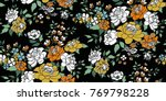 seamless floral pattern in... | Shutterstock .eps vector #769798228