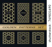 geometric pattern with label ...   Shutterstock .eps vector #769831690