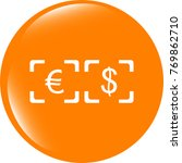currency exchange sign icon.... | Shutterstock . vector #769862710