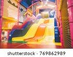 baby indoor children playground ... | Shutterstock . vector #769862989