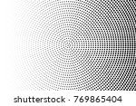 abstract futuristic halftone... | Shutterstock .eps vector #769865404