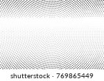 abstract futuristic halftone... | Shutterstock .eps vector #769865449