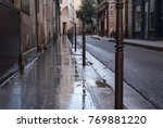 wet pavement after the rain in... | Shutterstock . vector #769881220