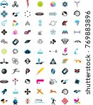 logo sets collection various... | Shutterstock .eps vector #769883896
