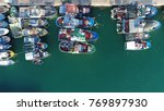 aerial top down view photo of... | Shutterstock . vector #769897930