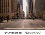 new york  ny   december 2  2017 ... | Shutterstock . vector #769899700