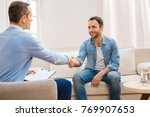 nice session. attractive... | Shutterstock . vector #769907653