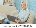 very convenient. smiling... | Shutterstock . vector #769909234