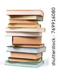 book  stack  literature. | Shutterstock . vector #769916080
