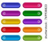 set of web buttons with arrows  ... | Shutterstock .eps vector #769938823