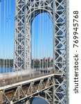 george washington bridge  new... | Shutterstock . vector #769945768