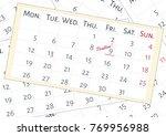 vector illustration. a mix of... | Shutterstock .eps vector #769956988